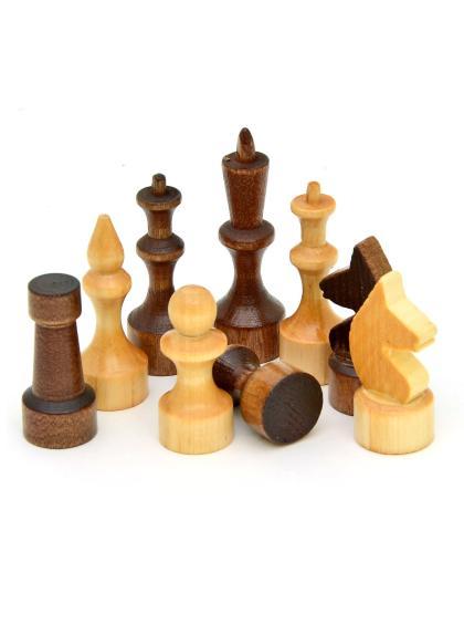 Шахматные фигуры малые «Владимирские» лакированные