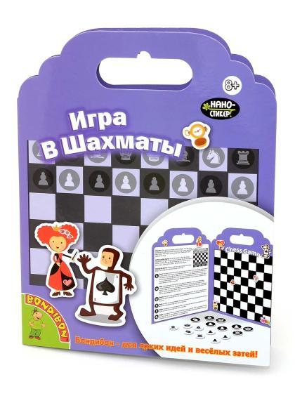 Шахматы «Нано-стикер» магнитные