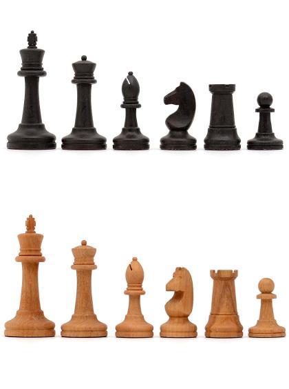 Шахматные фигуры «Купеческие» бук