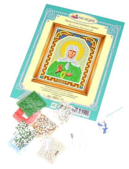 Алмазная мозаика «Святая Матрона Московская» алмазная мозаика