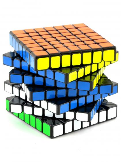 Кубик Рубика «WuJi» QiYi MoFange 7x7x7 чёрный