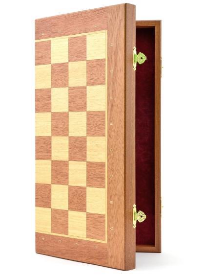 Шахматная доска «Панская» махагон