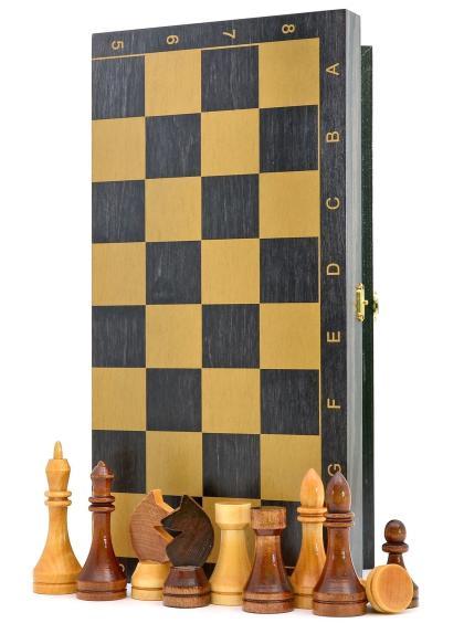 Шахматы «Гроссмейстерские-золото» тонированные