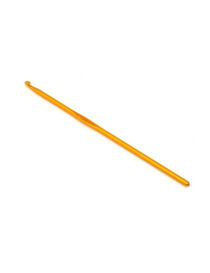 Крючок для вязания, диаметр 4 мм, длина 15 см, металл, 1 шт