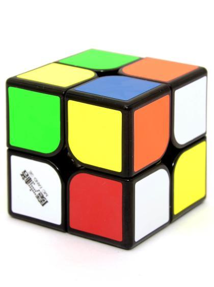 Кубик Рубика «WuXia Magnetic» QiYi 2x2 чёрный пластик