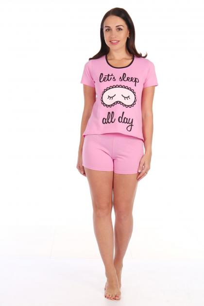 Пижама Маска розовый
