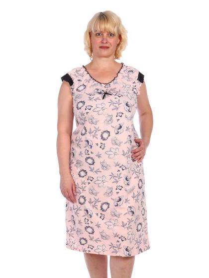 Ночная сорочка мод. НС-41 розовая